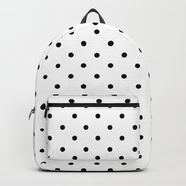 Dotted (Black & White Pattern) Backpack
