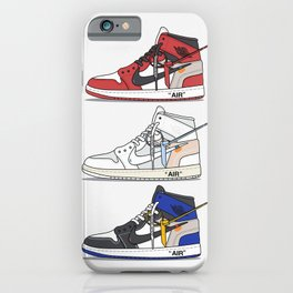 jordan 1 sneakers  iPhone Case