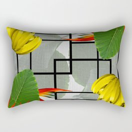 Tropical Squares Rectangular Pillow