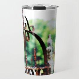 Cemetary Gate Travel Mug