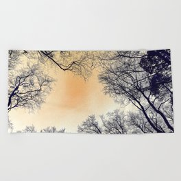 Infrared Forest Beach Towel