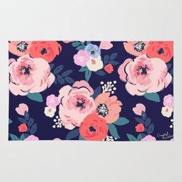 Aurora Floral Rug