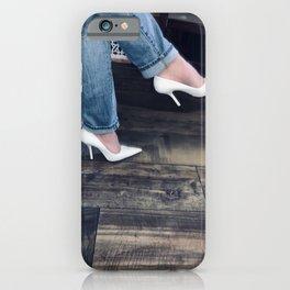 White Pumps. iPhone Case