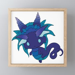 Nightshade Baby Dragon Framed Mini Art Print