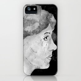 Mugshot The Girl iPhone Case