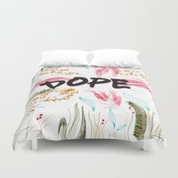 dope Duvet Covers featuring Dope.  by AudArt