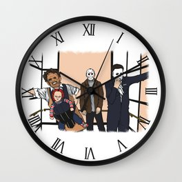 THE HORROR PACK Wall Clock