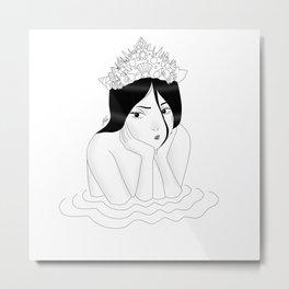Crown Metal Print