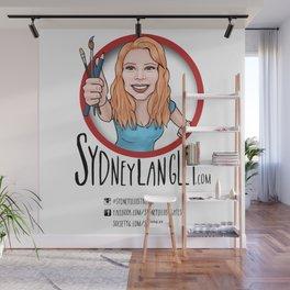 Sydney Langley Illustration Logo Wall Mural