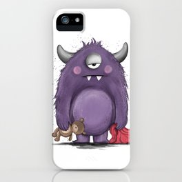 Groggy Monster iPhone Case