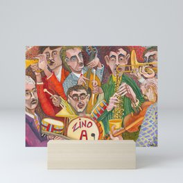 All That Jazz  - New Orleans Jazz Band Mini Art Print