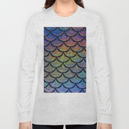 Cobalt Cantaloupe Scales Long Sleeve T-shirt