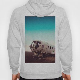 Collateral Beauty of this Plane Wreckage in Iceland Hoody