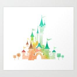 W Castle Art Print