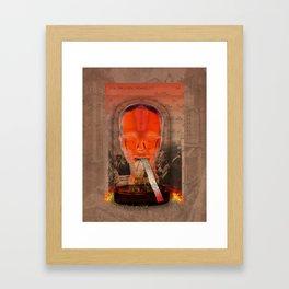 Black Tueday Framed Art Print