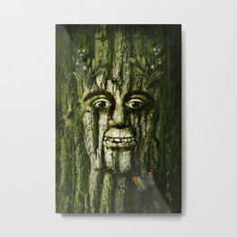 The Tremendous Mr. Treebley Metal Print