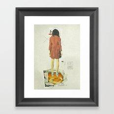 It Always Happens | Collage Framed Art Print