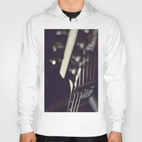 guitar Hoodies featuring guitar by monicamarcov