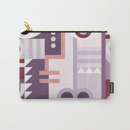 Abstract Art Geometric Portrait Carry-All Pouch
