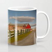 farm Mugs featuring Farm by SShaw Photographic