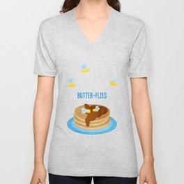 Butter-Flies Unisex V-Neck
