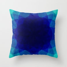 psychedelic flower [Circle Week] Throw Pillow