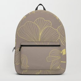 Golden Geranium Backpack