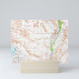 CA Salton Sea 299864 1965 Topographic Map Mini Art Print