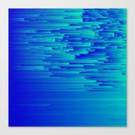 Speed Trap - Pixel Art Canvas Print