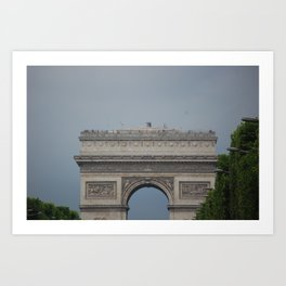 Arc De Triomphe 2 Art Print