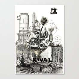 The Rival  Canvas Print