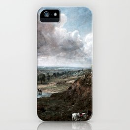 John Constable Branch Hill Pond, Hampstead iPhone Case