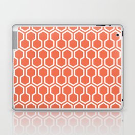 Honey Comb Pattern Coral Laptop & iPad Skin
