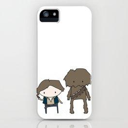 Han Solo & Chewie iPhone Case