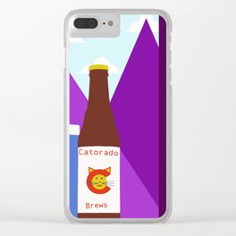 Craft by Cats Clear iPhone Case