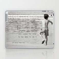 Like Peter Pan Laptop & iPad Skin