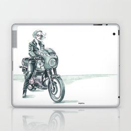 Retro Moto Girls - R100 Laptop & iPad Skin