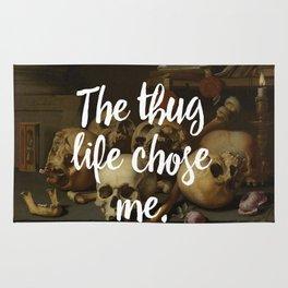 THE THUG LIFE CHOSE ME Rug