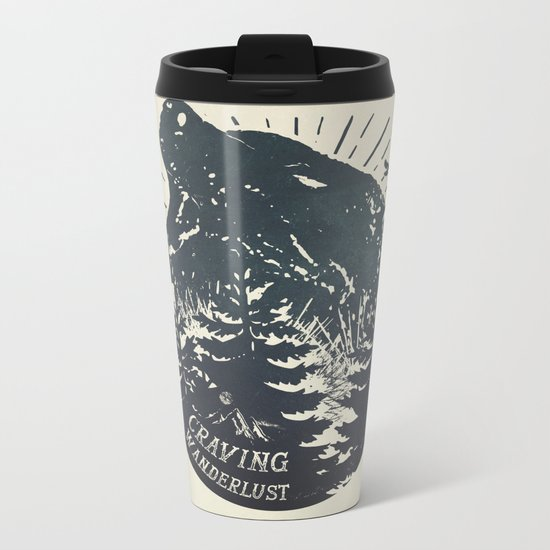 Craving wanderlust II Metal Travel Mug