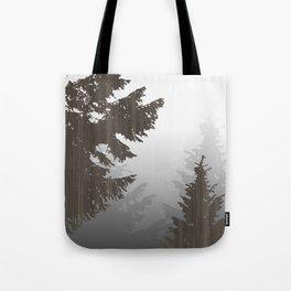 Norway Black Tote Bag