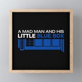 Mad man Framed Mini Art Print