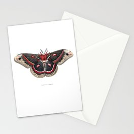 Cecropia Moth Stationery Cards