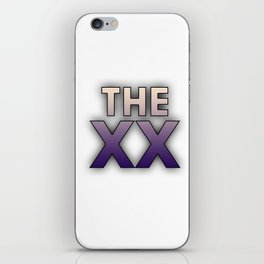 The XX iPhone Skin