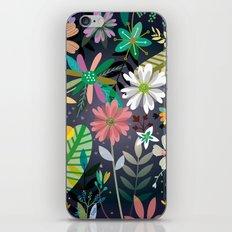 Funky garden iPhone & iPod Skin