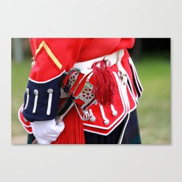 English Uniforms Canvas Print