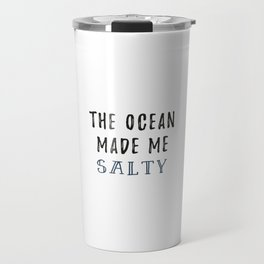 Salty Ocean Travel Mug