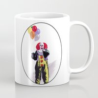 pennywise Mugs featuring You All Taste So Much Better When You're Afraid by Zombie Rust