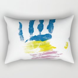 Pansexual Hand Rectangular Pillow