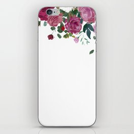 Floral Waterfall iPhone Skin