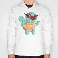 squirtle Hoodies featuring Squirtle by Daniel Mackey